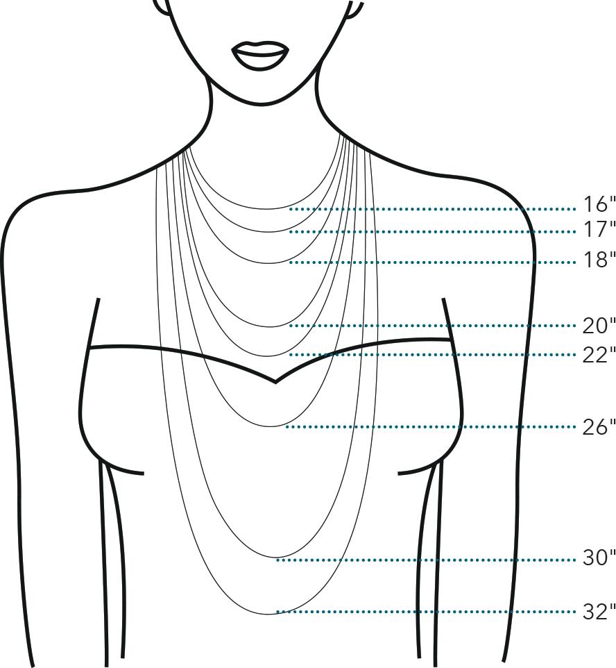 Kit Heath Neckwear Size Guide