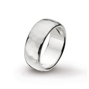 Coast Pebble Hammered 8mm Ring