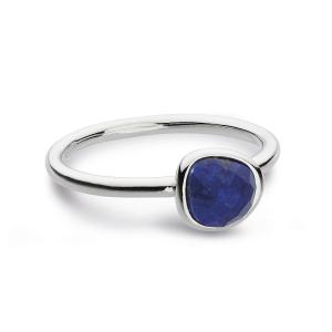 Coast Pebble Stone Mini Lapis Ring