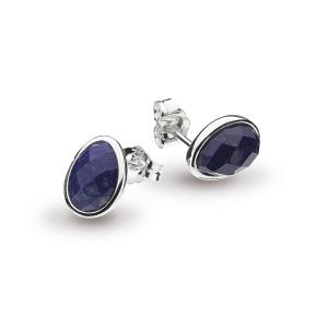Coast Pebble Lapis Lazuli Large Stud Earrings