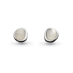 Coast Pebble Moonstone Mini Stud Earrings