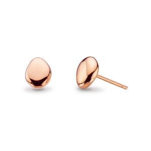 Coast Tumble Rose Gold Stud Earrings
