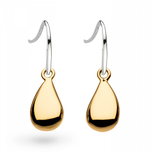 Coast Pebble Gold Drop Earrings