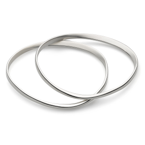 Coast Shore Double Sandblast Bangles
