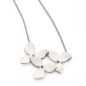 Blossom Petal Bloom Trio Necklace