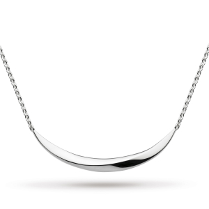 Bevel Curve Small Bar Necklace