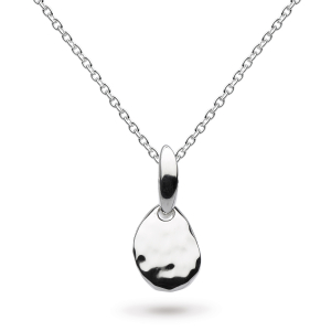 Coast Pebble Small Hammered Necklace