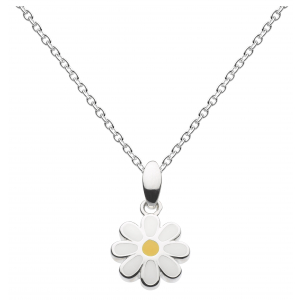 Girls Delightful Daisy Necklace