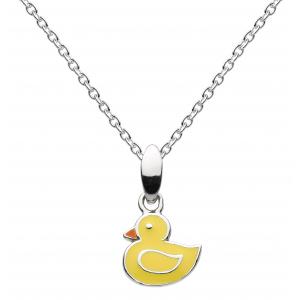 Girls Little Duck Necklace