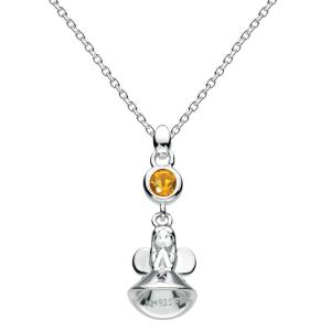 Girls Necklace Fairy Birthstone November
