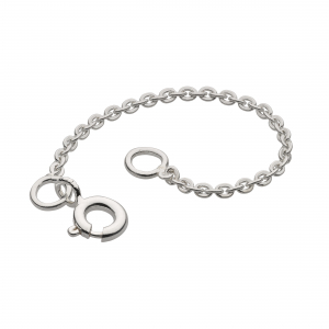Rhodium Plated Chain Extender 2""