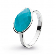 Coast Pebble Stone Turquoise Ring