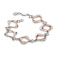 Entwine Alicia Rose Gold Bracelet