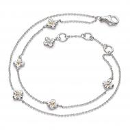 Blossom Flyte Honey Flower Double Bracelet
