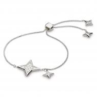 Empire Astoria Starburst Grande CZ Star Toggle Bracelet