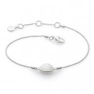 Coast Pebble Stone Moonstone Mini Bracelet