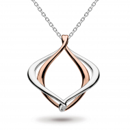 Entwine Alicia Rose Gold Necklace