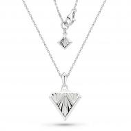 Empire Deco Diamond Shape Necklace
