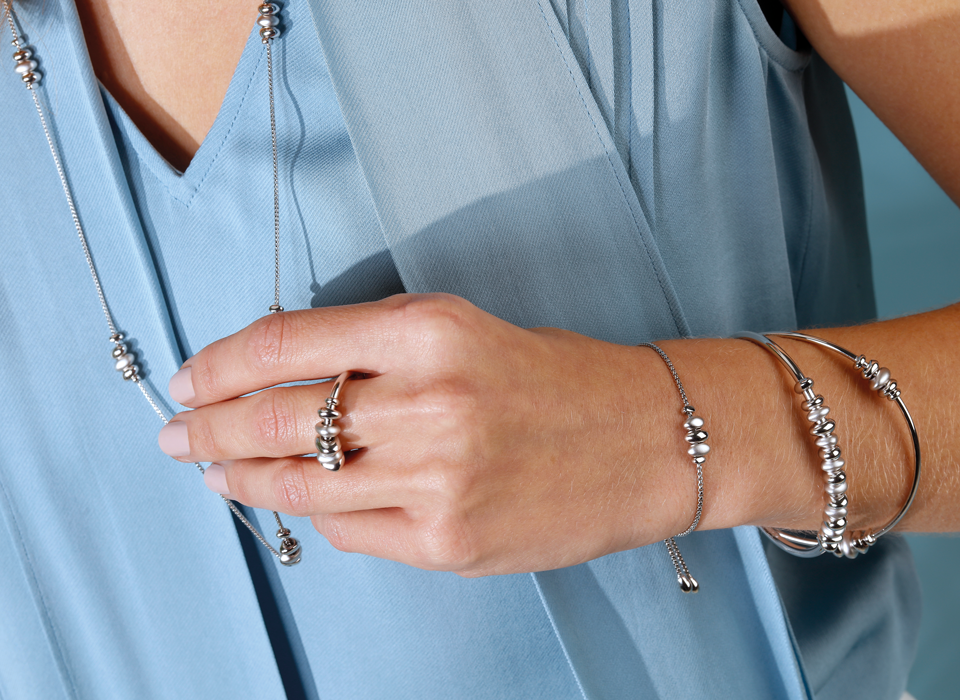Kit Heath Coast Tumble collection, coastal inspired sterling silver jewellery